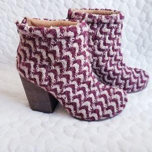 Jeffrey Campbell Havana knit boots booties heeled